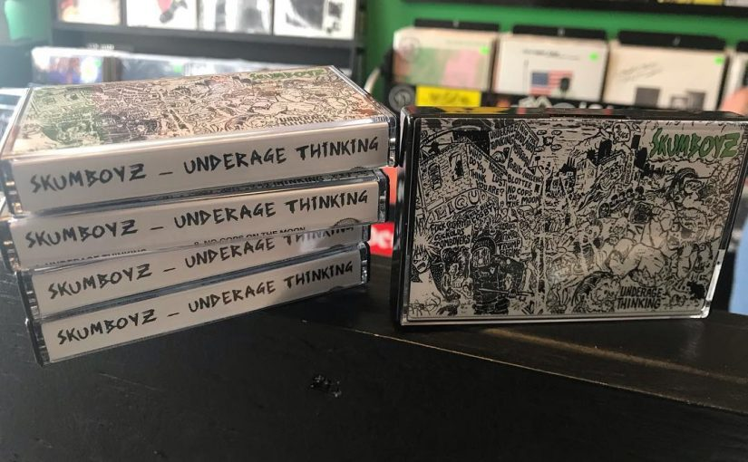 Underage Thinking Tape Release